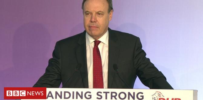 Brexit: DUP deputy chief Nigel Dodds urges PM to 'bin the backstop'