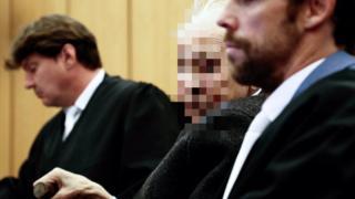 Johann R in court in Muenster, 6 November