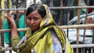 One of Janatara's daughters who was recently married. She is anxious about having children and providing for them.