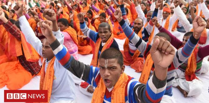 India's Ayodhya website: Masses gather as Hindu-Muslim dispute simmers