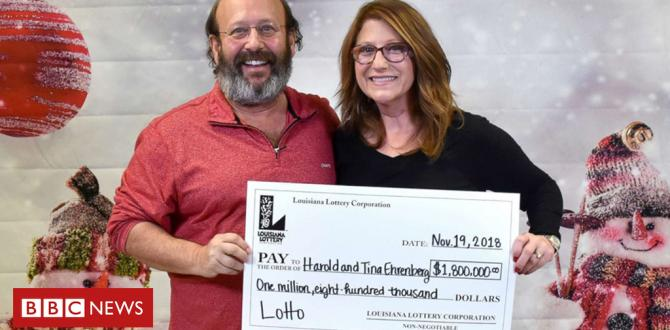 Louisiana lottery: Couple to find profitable lotto ticket while cleaning