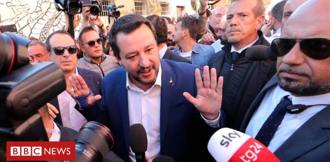 Matteo Salvini brushes off viral break-up with celebrity girlfriend