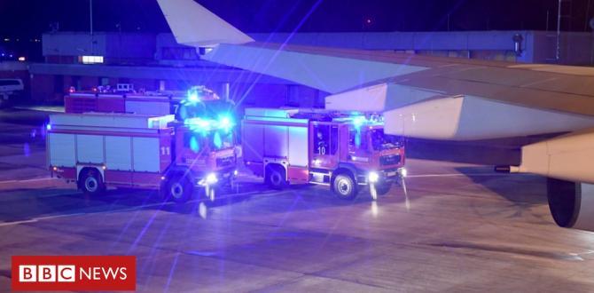 Merkel's aircraft makes unscheduled landing after technical hitch