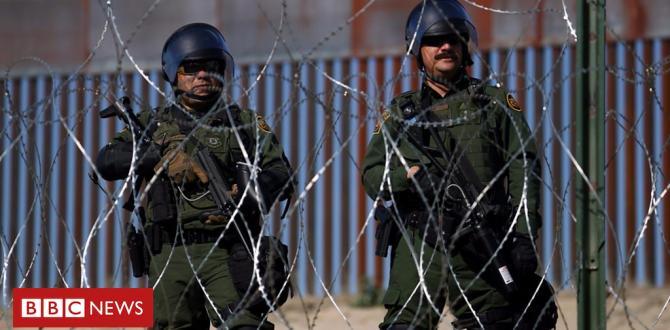 Mexico Caravan: US shuts crossing after migrants rush Tijuana border