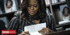 Michelle Obama's memoir Becoming breaks sales report in 15 days
