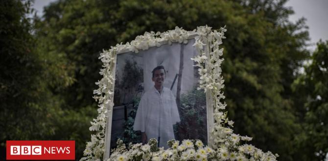 Philippines drug battle: Police found in charge of murdering Kian Delos Santos