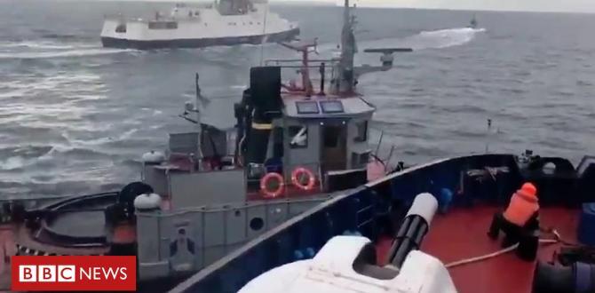 Photos presentations Russian send crashing into Ukrainian tug off the Crimean Peninsula