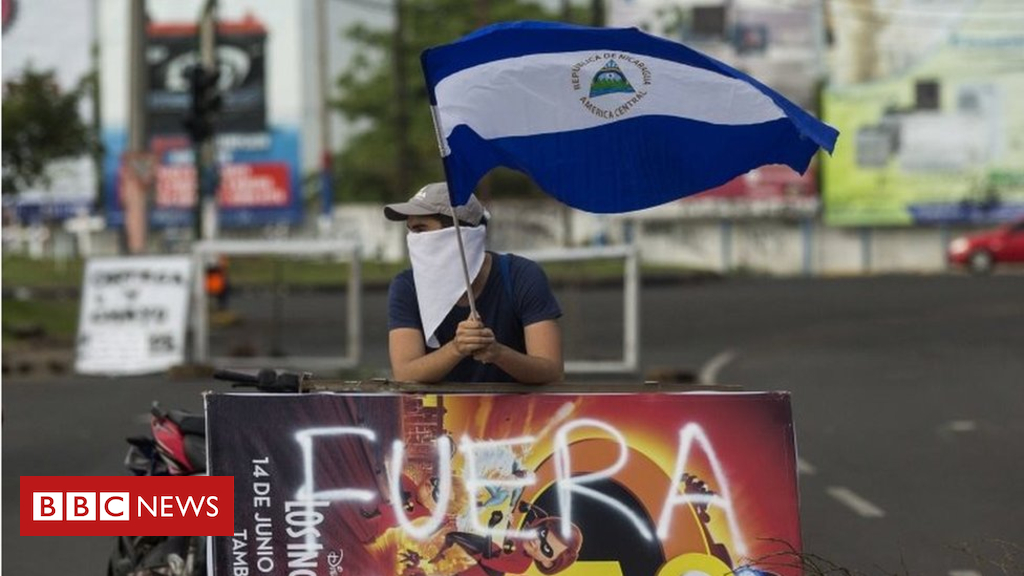 'Slipping into darkness': How Nicaragua's situation spread out