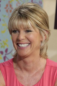 """<center>Ruth Langsford 's crop is soft and flattering and by tucking it behind her ears and flicking out the ends, it shows off her fringe and cheekbones to best effect."""" /> 43/EIGHTY FIVE </p> <h2>Ruth Langsford 's crop is cushy and flattering and by tucking it at the back of her ears and flicking out the ends, it presentations off her fringe and cheekbones to best possible impact.</h2> </p> <p> <img width="""