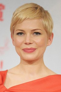 A soft, side swept crop, Michelle Williams ' short, feathered fringe keeps her hairstyle looking feminine and pretty.