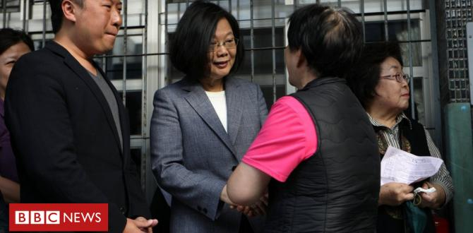 Taiwan's President Tsai quits as ruling birthday party boss after poll setback