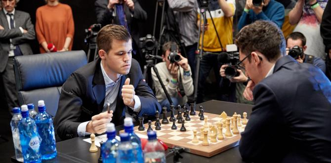 U.S. challenger Caruana saves draw in epic first game of chess title match