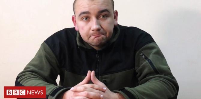 Ukraine-Russia sea conflict: Captured sailors shown on Russia TV