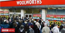 What has took place to Woolworths' shops 10 years after closure?