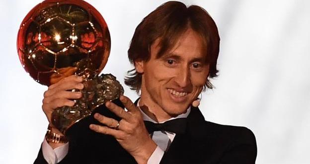 Ballon d'Or: Luka Modric ends dominance of Lionel Messi and Cristiano Ronaldo