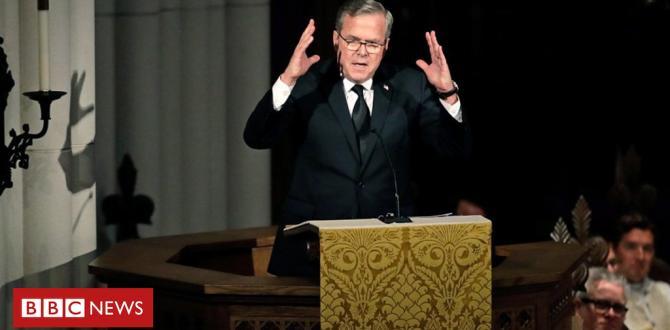 Barbara Bush funeral: Son Jeb Bush will pay tribute to his parents' love