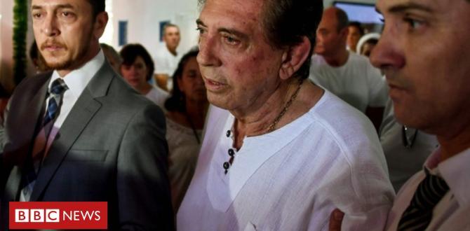 Brazil 'faith healer' John of God surrenders to police