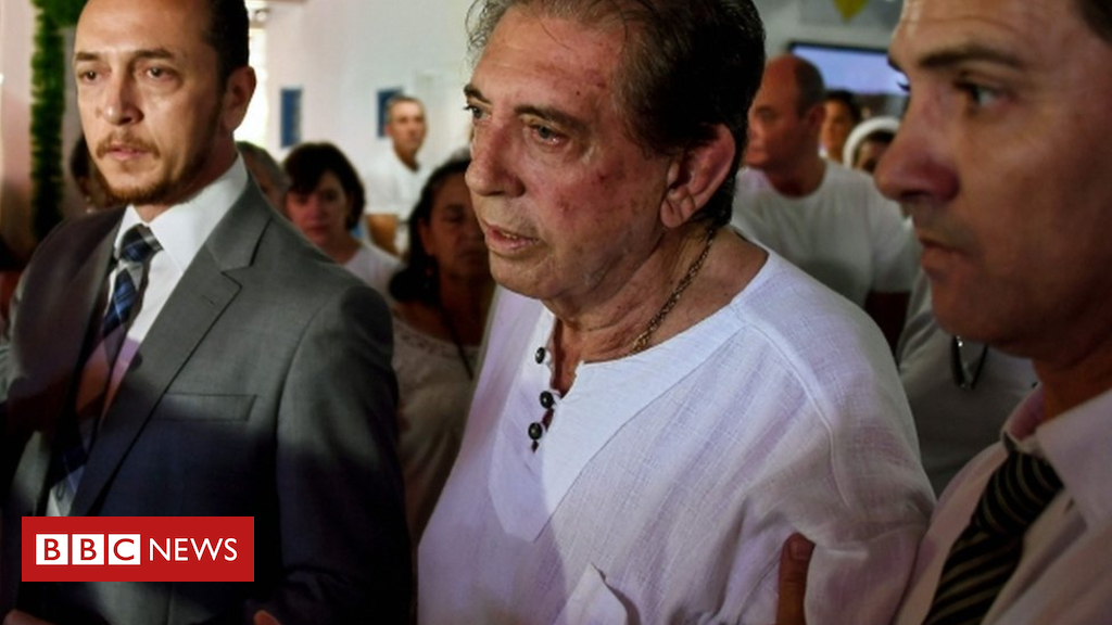 Brazil 'faith healer' John of God surrenders to police