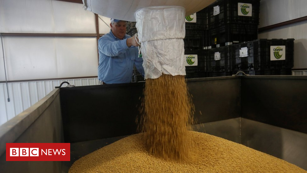 China buys US soybeans for first time when you consider that industry warfare