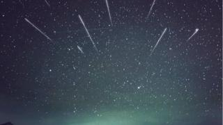 Did you see the Geminid meteor bathe?