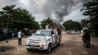DR Congo poll: Blaze hits electoral depot as hectic vote nears
