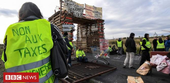 France fuel protests: who're the 'gilets jaunes' (yellow vests)?