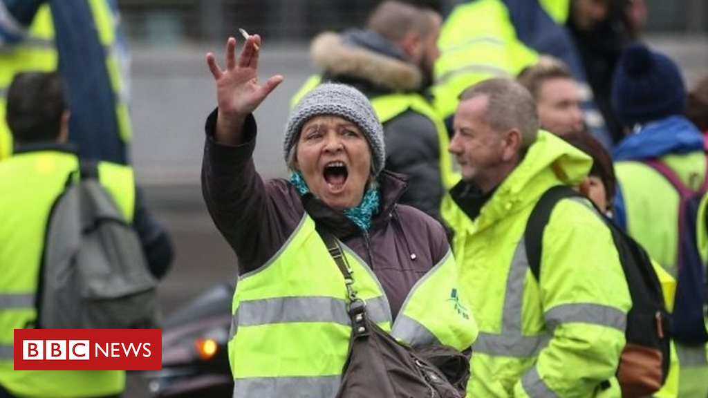 France gas protests: who're the folks in the yellow vests?