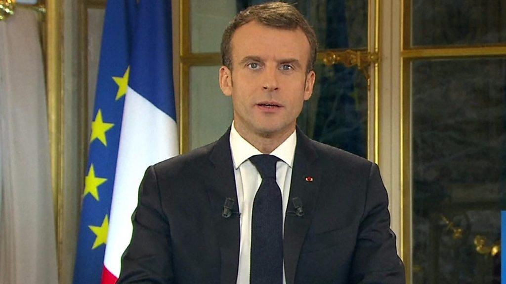 France Gilets Jaunes: Macron promises divide protest leaders