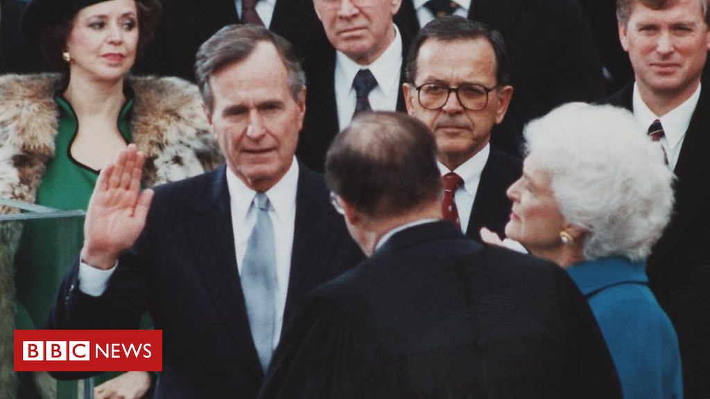 George HW Bush: A Glance back at the former US president's life