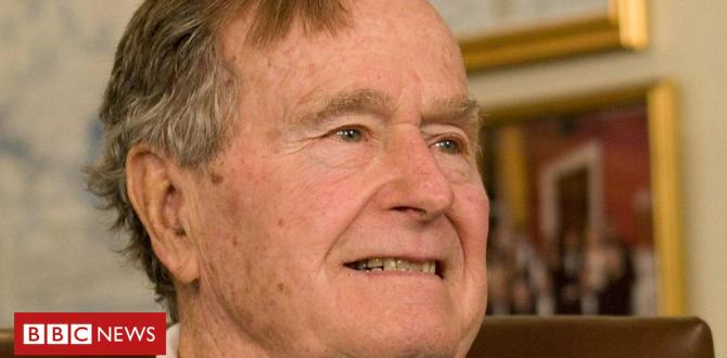 George HW Bush: A Look again on the former US president's lifestyles