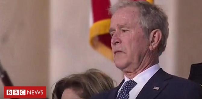 George HW Bush: Casket lies in state ahead of funeral