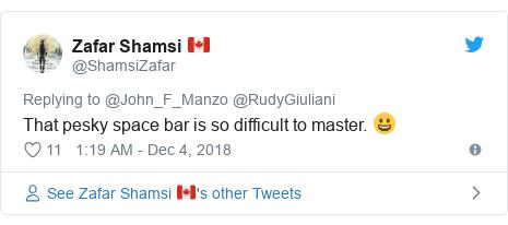 Giuliani's Twitter typo used to abuse President Trump