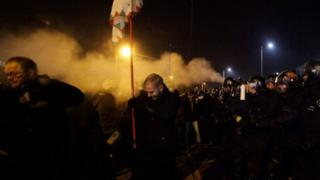 Hungarians rally again against 'slave laws'