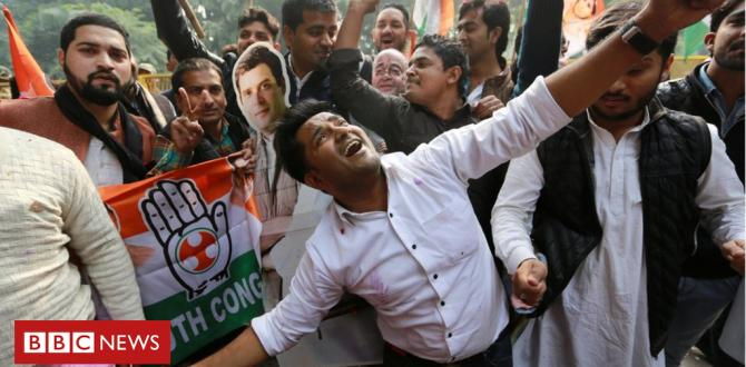India elections: Setback for Modi's BJP in 3 key states