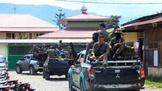 Indonesia assault: Gunmen kill 24 building employees in Papua