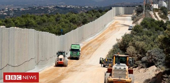 Israel goals Hezbollah 'terror tunnels'