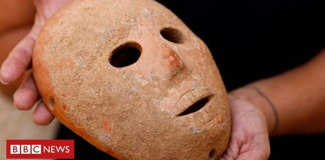 Israel unveils 9,000-12 months-antique mask from the West Bank