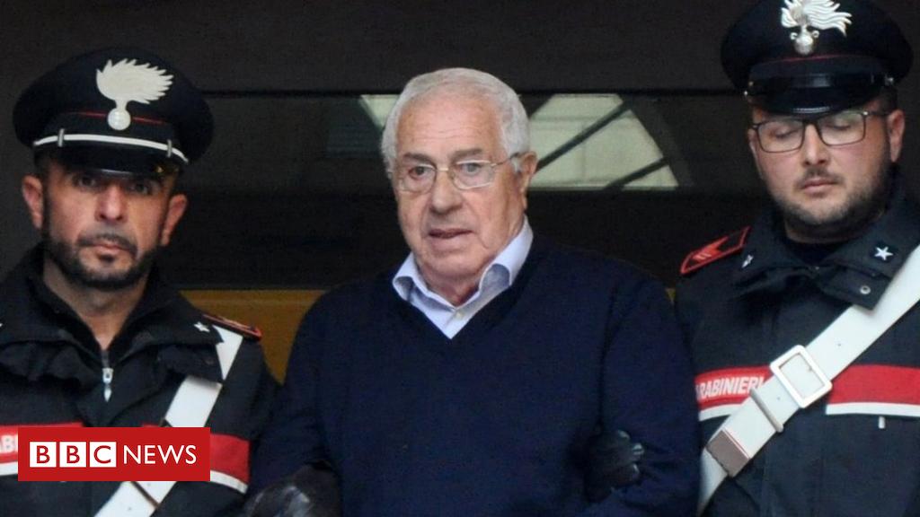 Italian Mafia 'godfather' Settimo Mineo held in Sicily raid