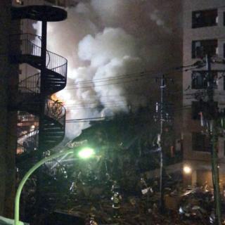 Japan explosion: 20 stated injured in Sapporo restaurant blast