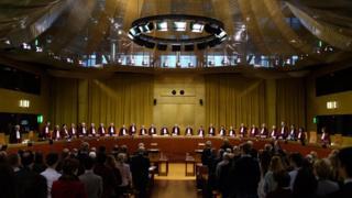 Legislation officer says UNITED KINGDOM can cancel Brexit