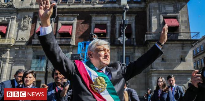 Mexico's López Obrador sworn in as first leftist president in a long time