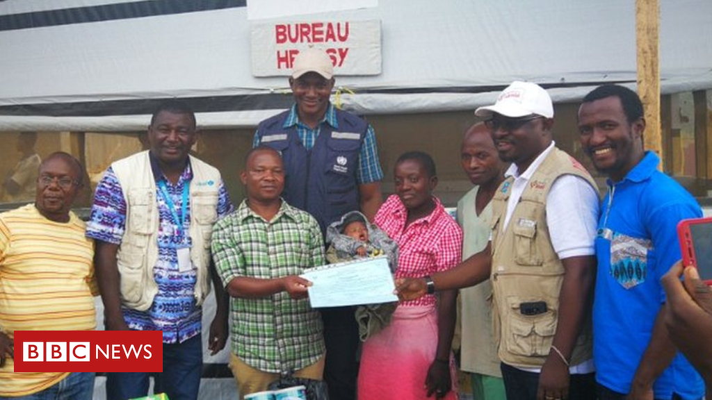 'Miracle' six-day-vintage child survives Ebola