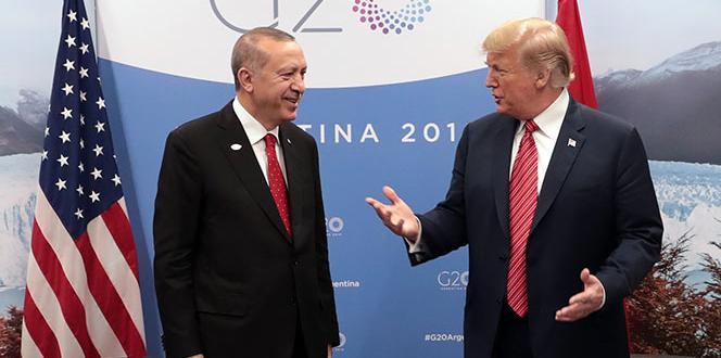 President Erdoğan – Trump ended the interview