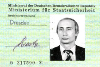 Putin's Stasi spy ID go present in Germany