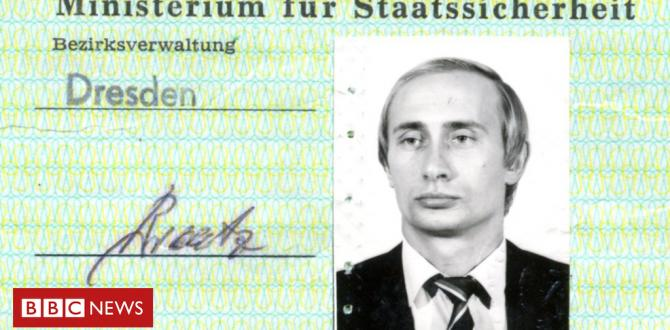 Putin's Stasi spy ID go present in Germany