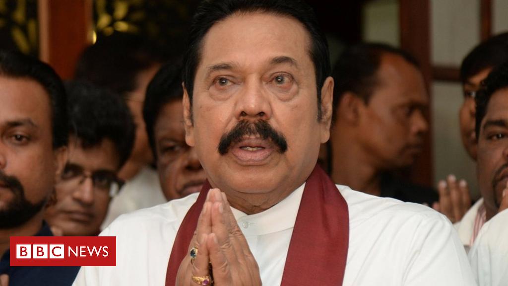 Rajapaksa: Sri Lanka's disputed PM resigns amid obstacle