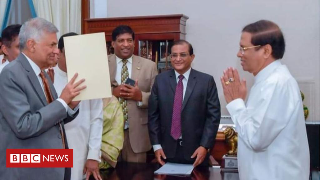 Ranil Wickremesinghe: Sri Lanka reinstates ousted prime minister