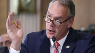 Ryan Zinke: US internal secretary to go away management