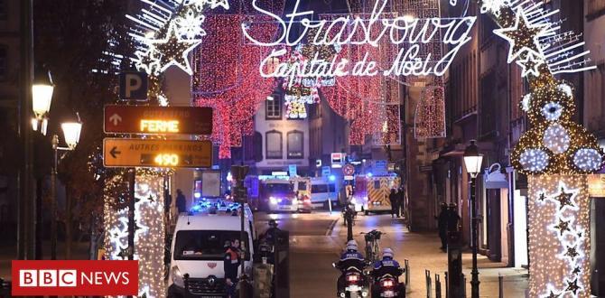 Strasbourg shooting eyewitness: 'I heard gunshots'
