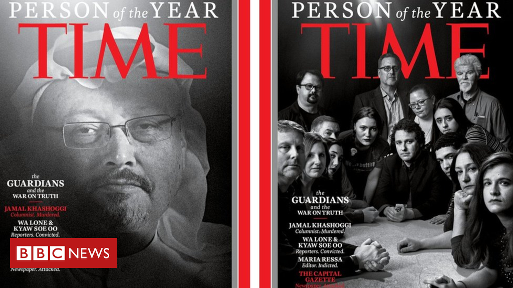 Time Magazine Individual of the Yr 2018 honours journalists